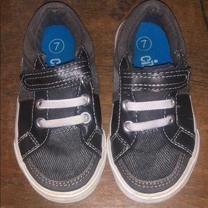 Circo Toddler Corduroy Grey Shoes 7T